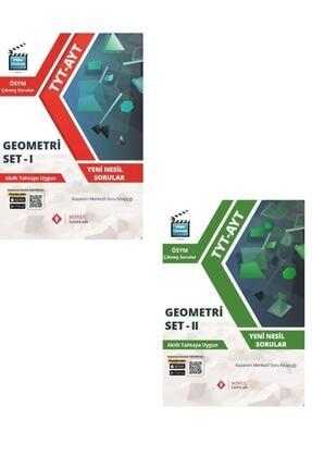 Sonuç Yayınları Tyt Ayt Geometri Modüler Set 1 - 2 Seti Yeni 2021