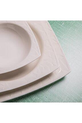Güral Porselen Güral Vıvente 24 Parça 6 Kişilik Bone Yemek Takımı