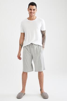 DeFacto Regular Fit Basic Şort Pijama Altı