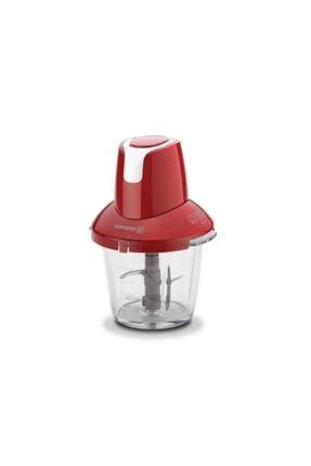 KORKMAZ A460-01 Pro Magic 4 Bıçaklı Kırmızı/krom Cam Doğrayıcı