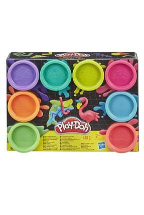 Play Doh Play-Doh 8'li Hamur Neon Renkler