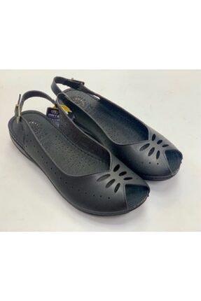 Muya Kadın Siyah Renk Klasık Şık Spor Model Manyetik Taban Anatomik Yazlık Anne Ayakkabısı 30220