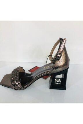 Pierre Cardin Kadın Platin Abiye Ayakkabı