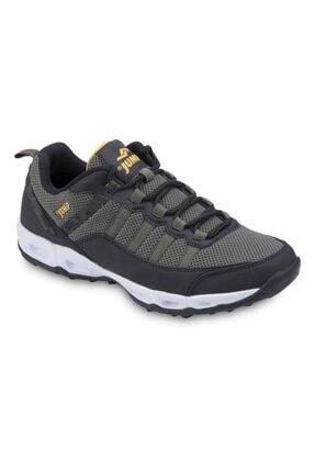 Jump Erkek Haki Siyah Günlük Spor Ayakkabı 21088 10s0421088