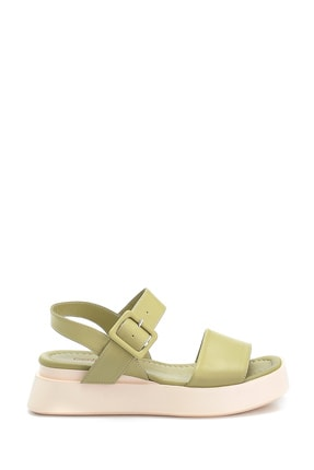 Derimod Kadın Casual Deri Sandalet