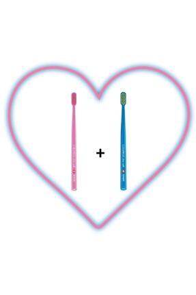 Curaprox Cs 5460 Love 2 'li Pembe-mavi Diş Fırçası