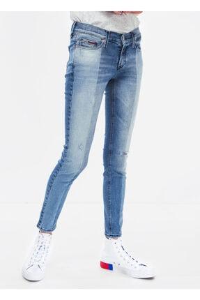 Tommy Hilfiger Kadın Mavi Tenny Light Pantolon Dw0dw04743 D005305