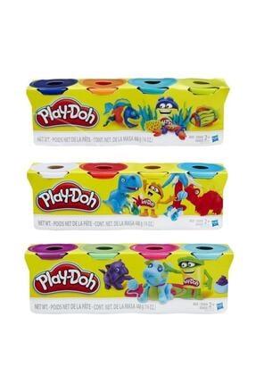 Play Doh Oyun Hamuru 4'lü 3 Paket