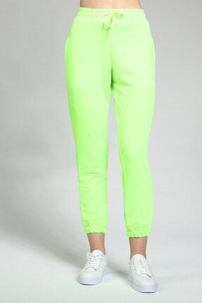 Masorte Kadın Neon Yeşil Eşofman Altı