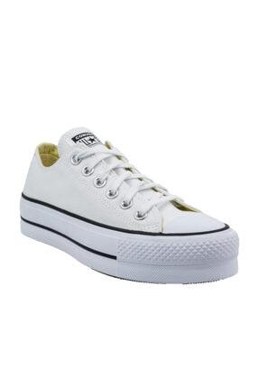 converse Chuck Taylor All Star Lift Kadın Beyaz Spor Ayakkabı (560251C.102)