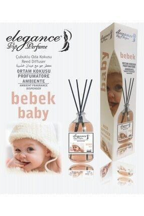 Elegance vip Perfume Bebek Kokusu Reed Diffuser Bambu Çubuklu Oda Kokusu (110 Ml)