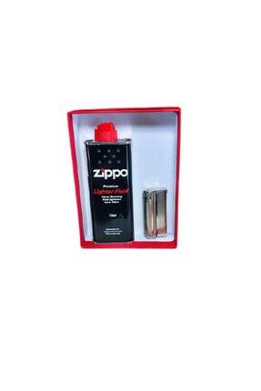 Zippo Benzinli Avusturya Rüzgarsız Benzinli Muhtar Çakmağı Benzin Hediyeli Set Imco 6600 Orjinal
