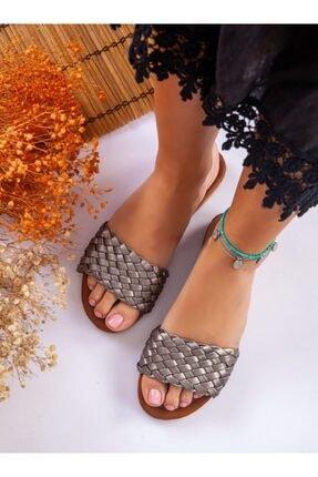 ayakkabıhavuzu Terlik - Gümüş