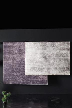 Enza Home Martha Modern Özel Tasarım Dokuma Halı - Gri 155x230