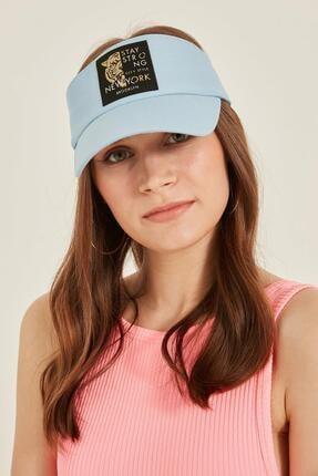 Y-London 14097 Kaplan Armalı Bebe Mavi Vizor Şapka