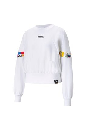 Puma Kadın Beyaz Sweatshirt 53104502