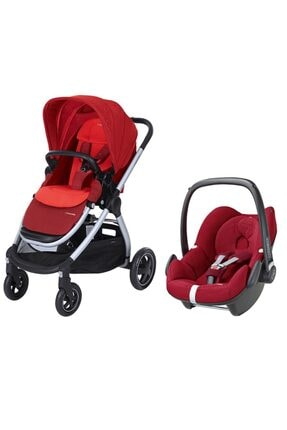 MAXİ-COSİ Adorra Travel Sistem Bebek Arabası / Vivid Red
