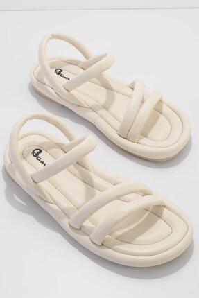 Bambi Bej Kadın Sandalet K05954010009