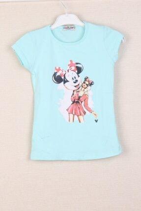 CLOUDY Kids Kız Çocuk Baskılı Tişört