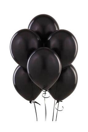 Kullan At Market Baskısız Siyah Balon 10lu