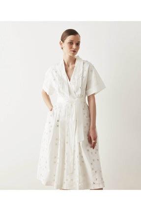 İpekyol Brode Detaylı Elbise