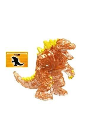 Legoedly Lego Uyumlu Jurassic World Park Temalı Renkli Figür Godzilla Turuncu