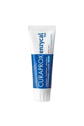 Curaprox Enzycal 950 Ppm Diş Macunu 75ml Sodyum Florür Ile Günlük Kullanım Için Diş Macunu