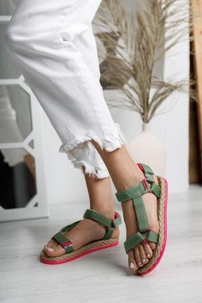 MUGGO Mglısa10 Günlük Kadın Sandalet