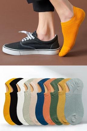 BGK Unisex 10'lu Görünmez Spor Ayakkabı Çorabı