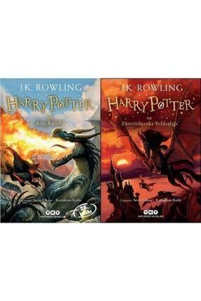 Yapı Kredi Yayınları Harry Potter ve Ateş Kadehi Zümrüdüanka Yoldaşlığı 2 Kitap Set