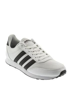 adidas V Racer 2.0 Beyaz Siyah Erkek Koşu Ayakkabısı 100351851