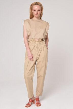 Laurel Yüksek Belli Pileli Pantolon