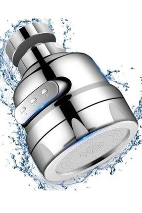 AKCAKESE % 75 Su Tasarruflu 3 Fonksiyonlu Krom Musluk Başlığı Mutfak Ve Lavaboya Uyumlu 360 Derece Döner