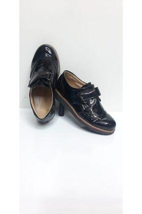 acaroğlu Siyah Parlak (rugan) Erkek Çocuk Takım Elbise Ayakkabısı Sünnet Düğün Ayakkabısı Oxford Modeli