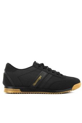 Slazenger AKER I Sneaker Erkek Ayakkabı Siyah SA11RE092