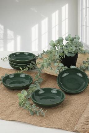 Keramika Jacobs Yeşili Halka Çerezlik 13 cm 6 Adet