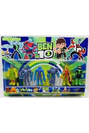 Ben 10 Allıen Force Benten Oyuncak Figür Set 6'lı