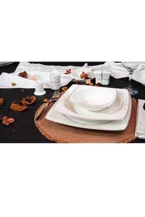 Güral Porselen 57 Parça Yemek Takımı 12 Kişilik 77260
