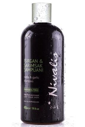 Nivalis Isırgan Sarımsak Şampuanı Saç Dökülmelerine Karışı Yağlı Saçlar İçin 400 ML Şampuan