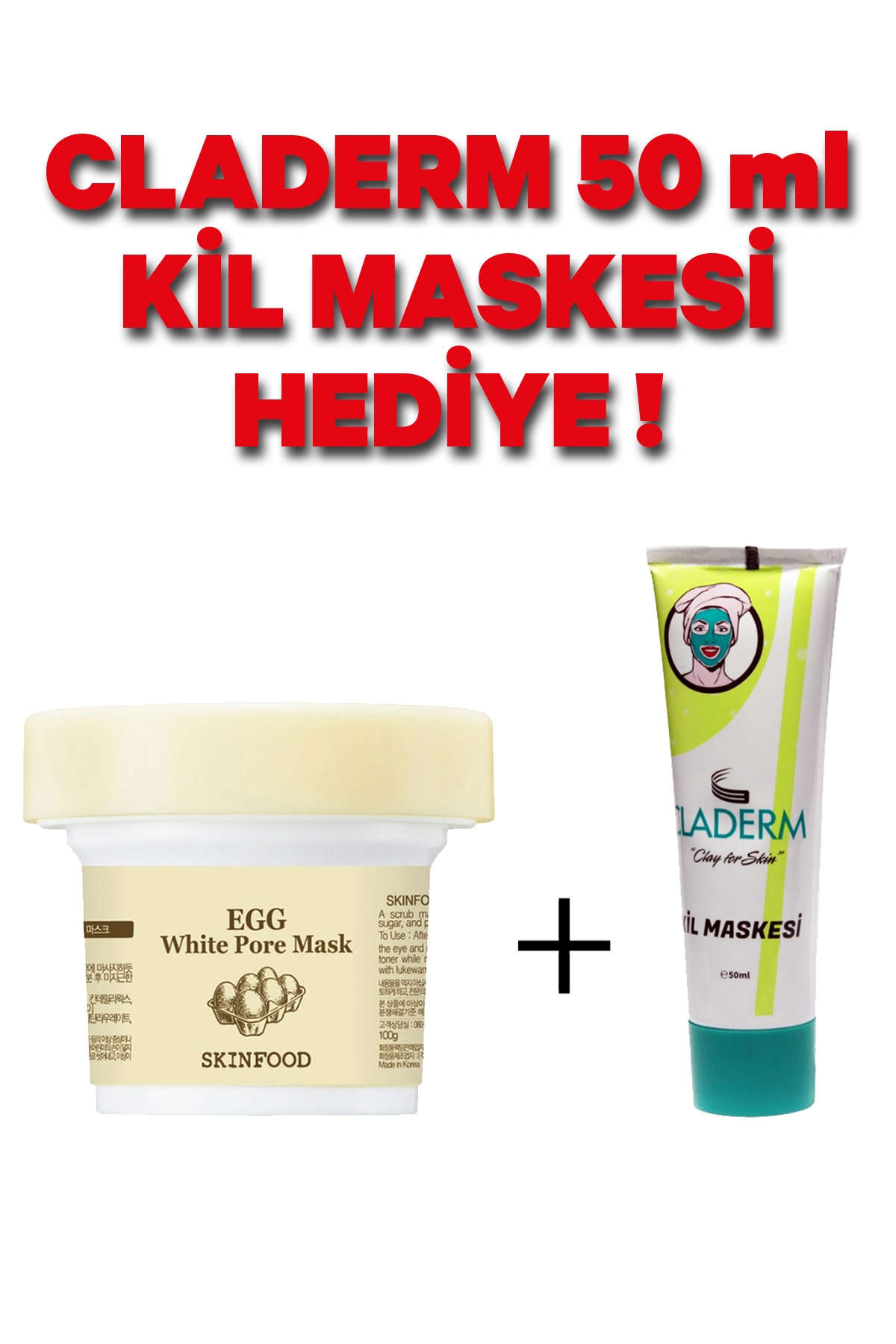 Skinfood Egg White Pore Mask 1