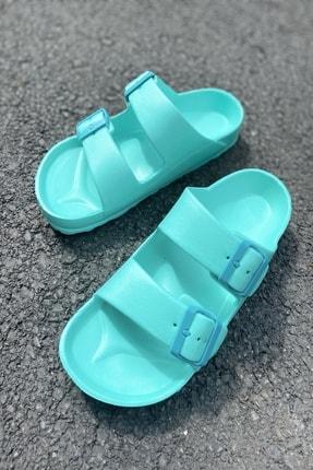 İnan Ayakkabı Kadın Su Yeşili Terlik