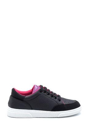 Derimod Kadın Siyah Renk Detaylı Sneaker