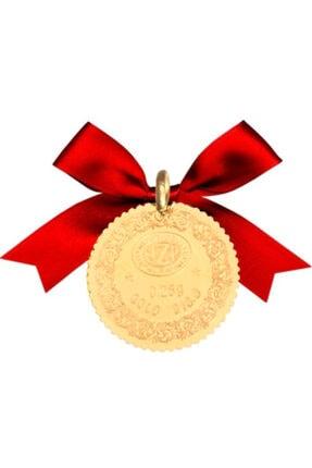 NZP Gold Bir Adet Çeyrek Kulplu 22 Ayar Altın 0.25 gr