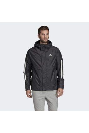 adidas Fı0625-e Bsc 3s Wınd Jkt Erkek Yağmurluk-rüzgarlık Siyah