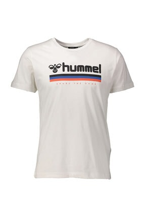 HUMMEL Willy Erkek Beyaz Tişört (911051-9003)