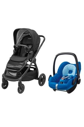 MAXİ-COSİ Adorra Travel Sistem Bebek Arabası / Frequency Black