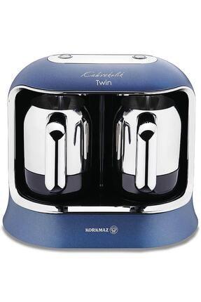 KORKMAZ Kahvekolik Twin Azura Kahve Makinesi A861-03