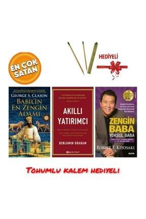 Defne Sepeti Akıllı Yatırımcı Zengin Baba Yoksul Baba Babilin En Zengin Adamı 3 Kitap Set 3 Kitap Set