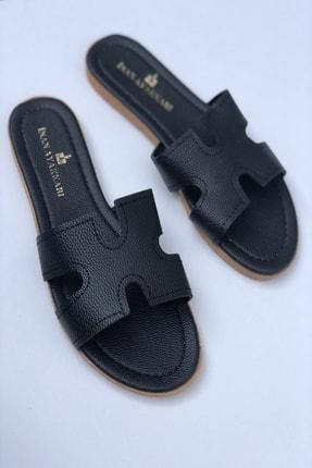 İnan Ayakkabı Kadın H Detaylı Terlik