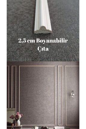 SepetteBiz Duvar Çıtası 2,5 Cm Boyanabilir 1 Boy 2.90 M